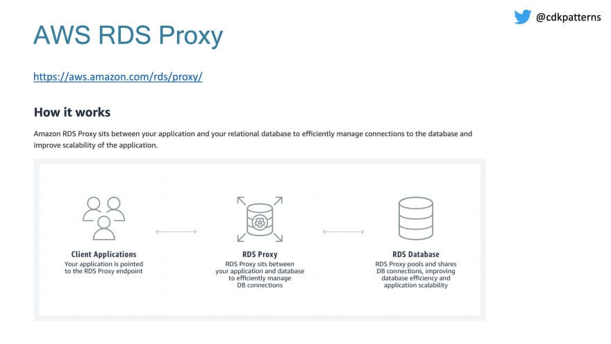 rds proxy