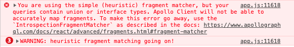 Heuristic Fragment Warning