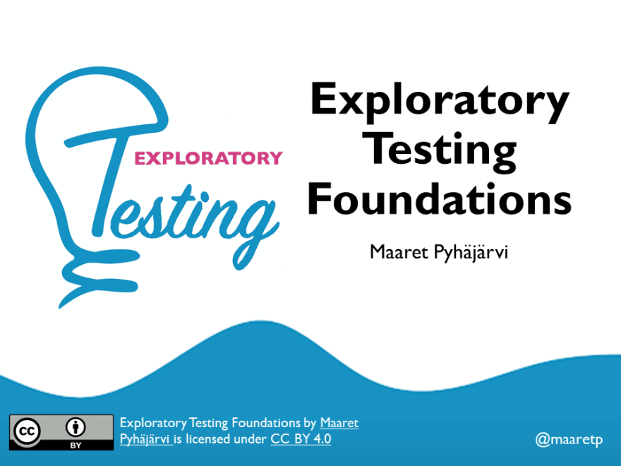 Exploratory Testing Foundations - the Course