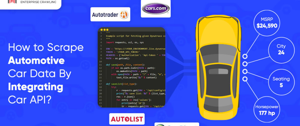 Cover image for How to Scrape Automotive Car Sales Data By Integrating Car API?