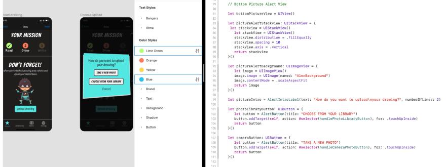 Xcode work environment