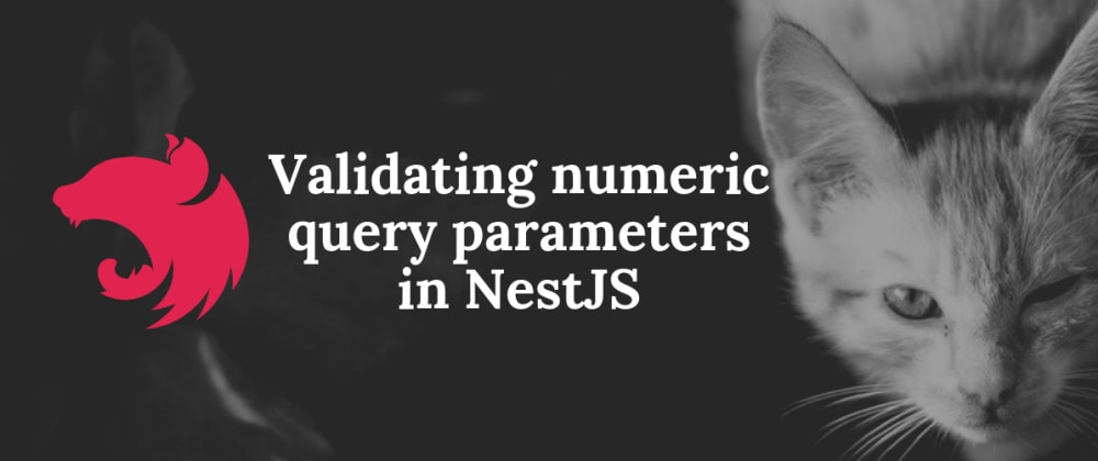 Cover image for Validating numeric query parameters in NestJS