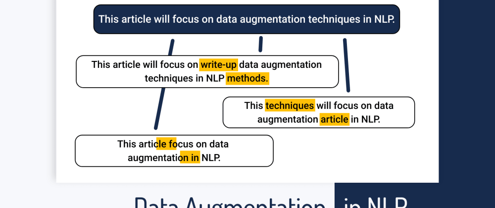 Cover image for Data Augmentation in NLP: Best Practices From a Kaggle Master