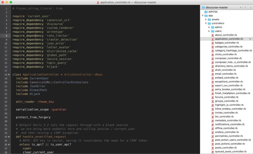 Twilight color scheme in TextMate 2