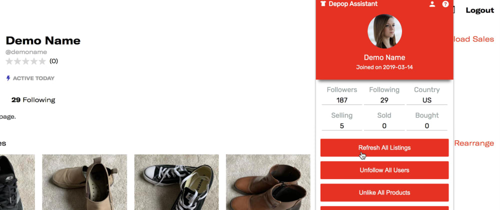 Cover image for Depop Bot - The Ultimate Guide (2020)