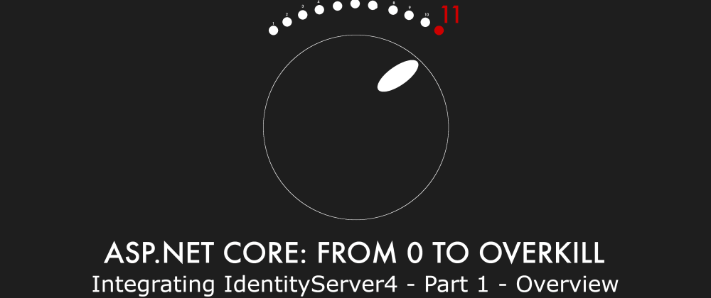 Cover image for Episode 021 - Integrating IdentityServer4 - Part 1 - Overview - ASP.NET Core: From 0 to overkill