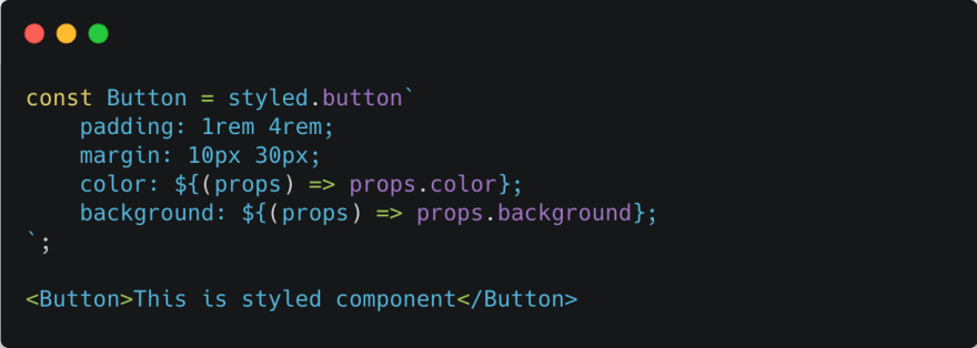 Styled component