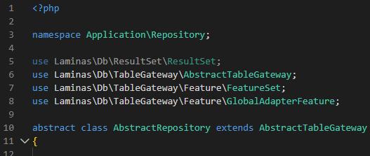 Pacotes com Namespace atualizados