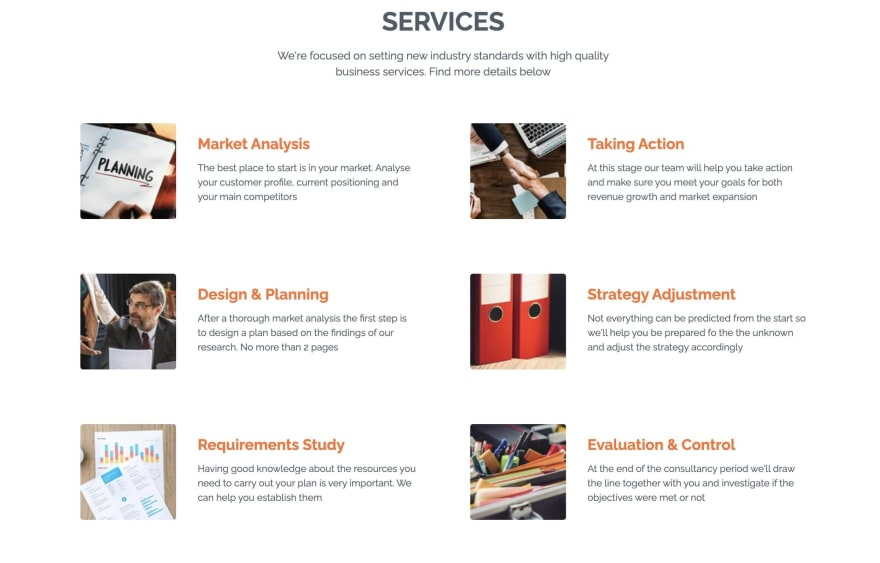 Juno Template Services Section