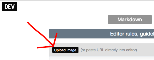 button for article image upload