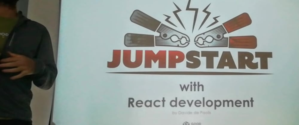 Cover image for Jump-Start with React development (intro)