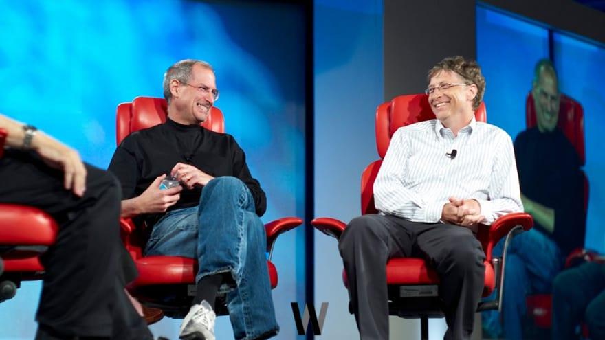Bill Gates ve Steve Jobs