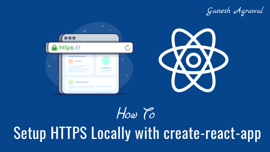 How to setup HTTPS locally with create-react-app