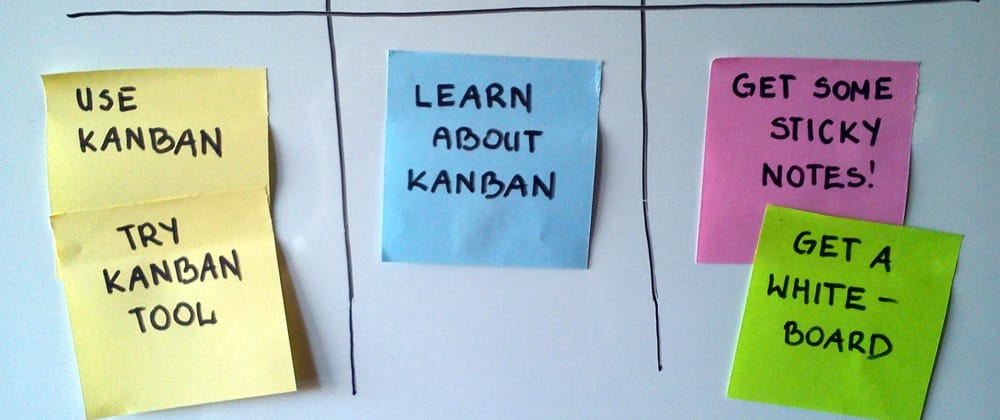 Cover image for Kanban board: the way to organize your work even outside the agile project.