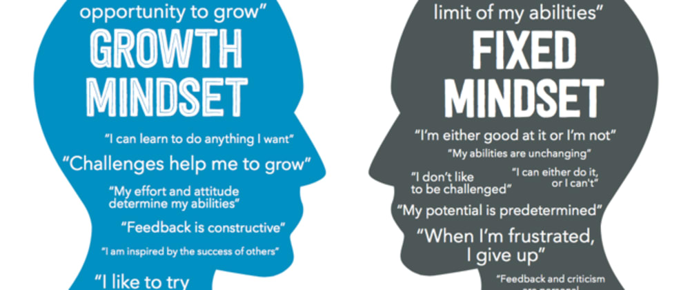 Cover image for How I demonstrated Growth Mindset recently