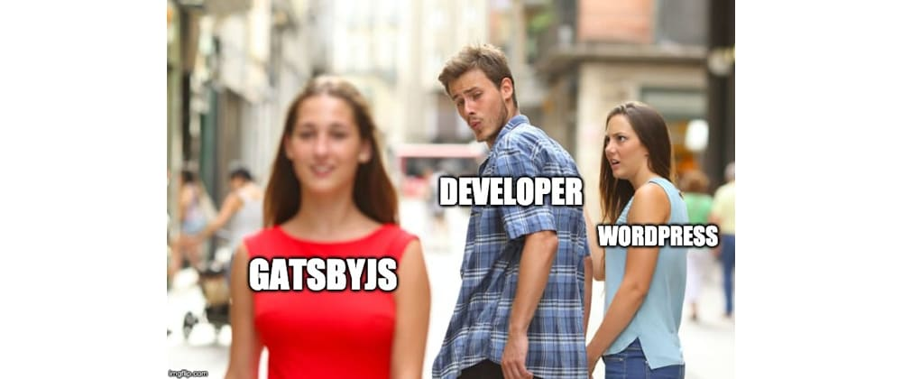 Cover image for Why GatsbyJS?