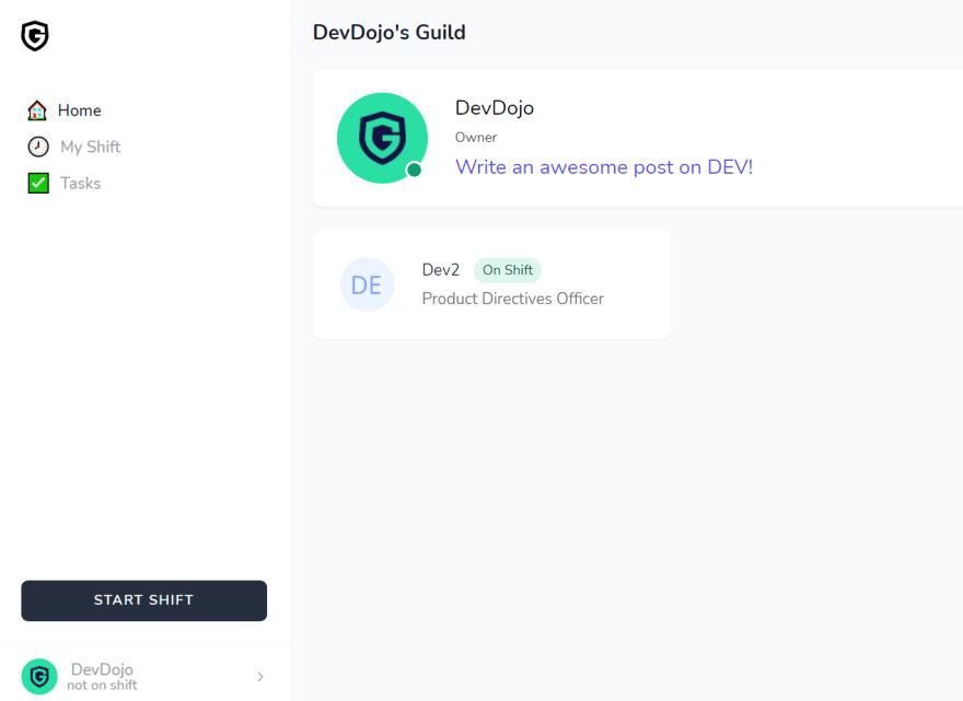 Guild.so UI changes