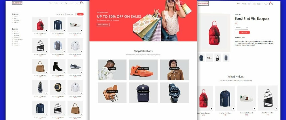 Cover image for Build an Ecommerce Website With React,mongodb and Nodejs | Mern Stack Ecommerce Website