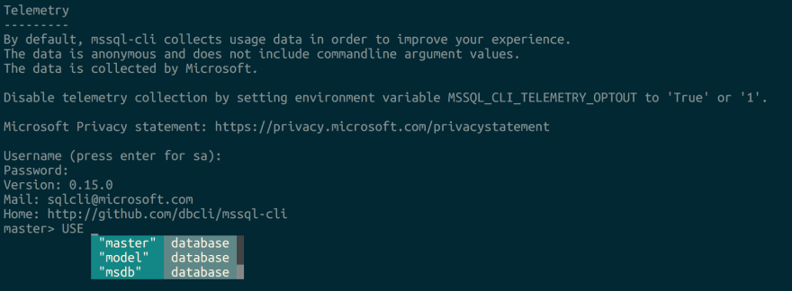 Open source tools for SQL Server on Linux
