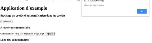 XSS Cookie