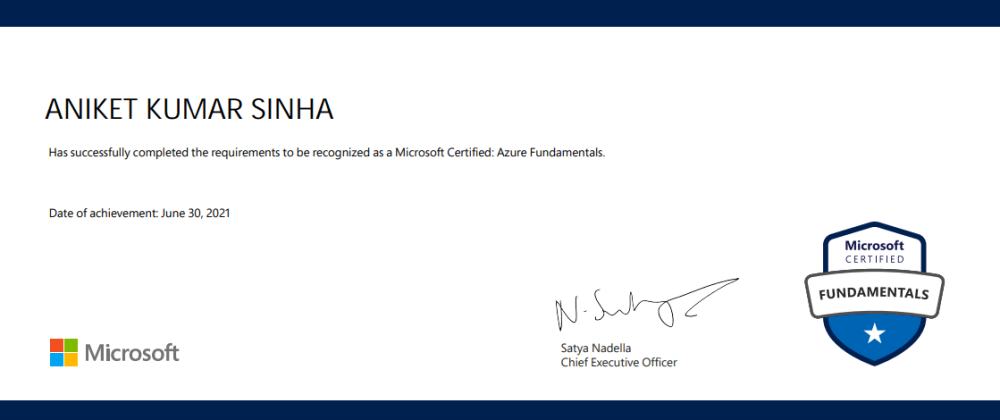 Cover image for How to get Microsoft Azure Fundamentals Certified?