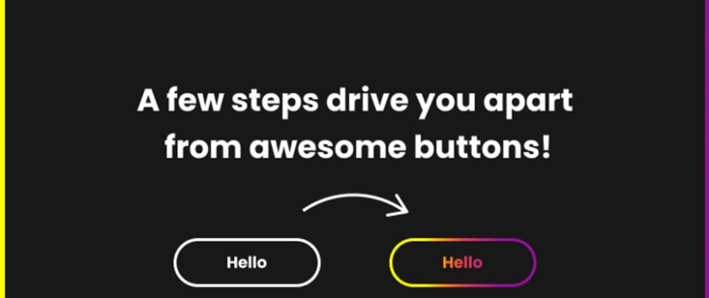 Cover image for Pure CSS animated gradient colour button is easier than you think!