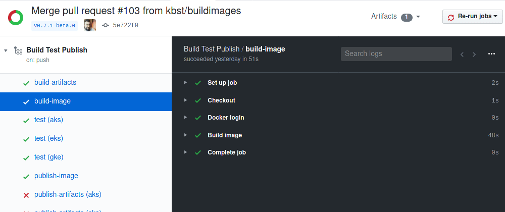 Cover image for Speed up multi-stage Docker builds in CI/CD with Buildkit's registry cache