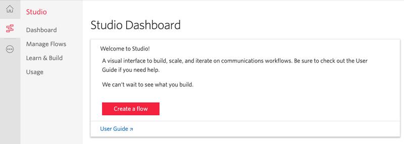 Studio Dashboard