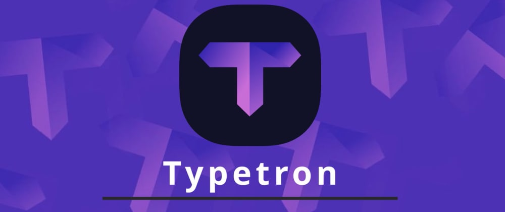 Cover image for Typetron has a CLI now