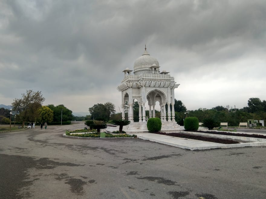 Somewhere in F-9 Park, Islamabad