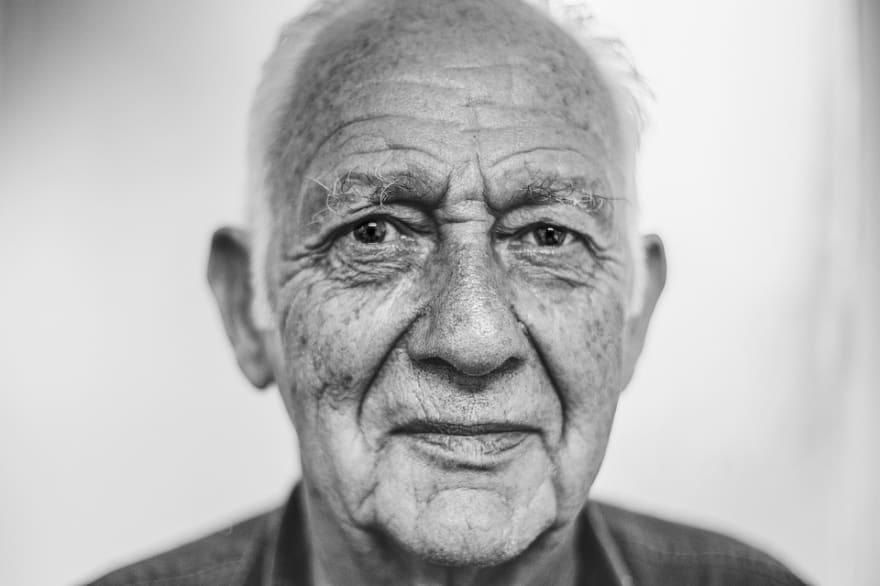 Old white man