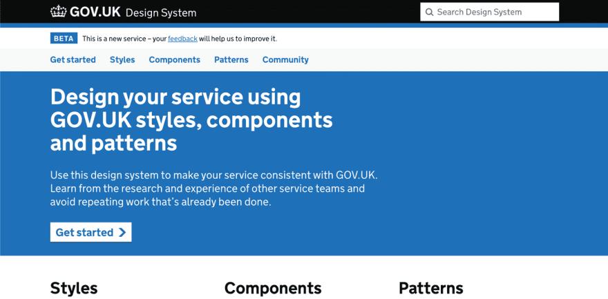 UK Design System
