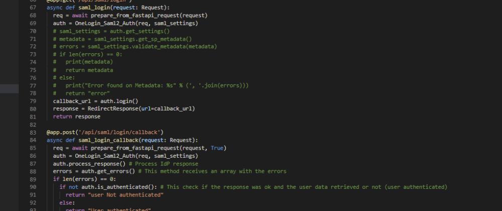 Cover image for FastAPI + SAML on Keycloak