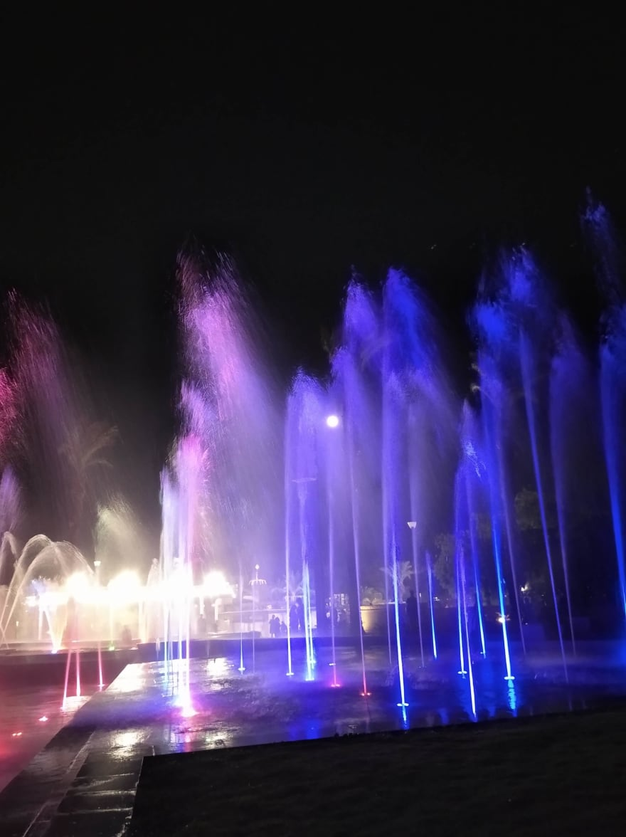 Eilat musical fountain