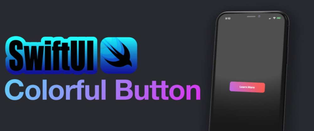 Cover image for SwiftUI colorful button animation