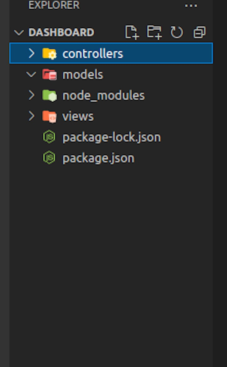 Saving MVC Folders, Called Model, View, And Controller