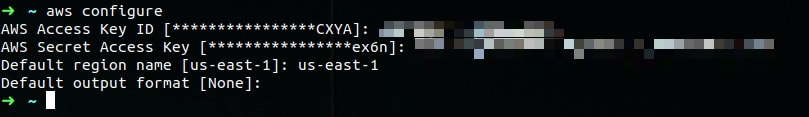 Configuration AWS