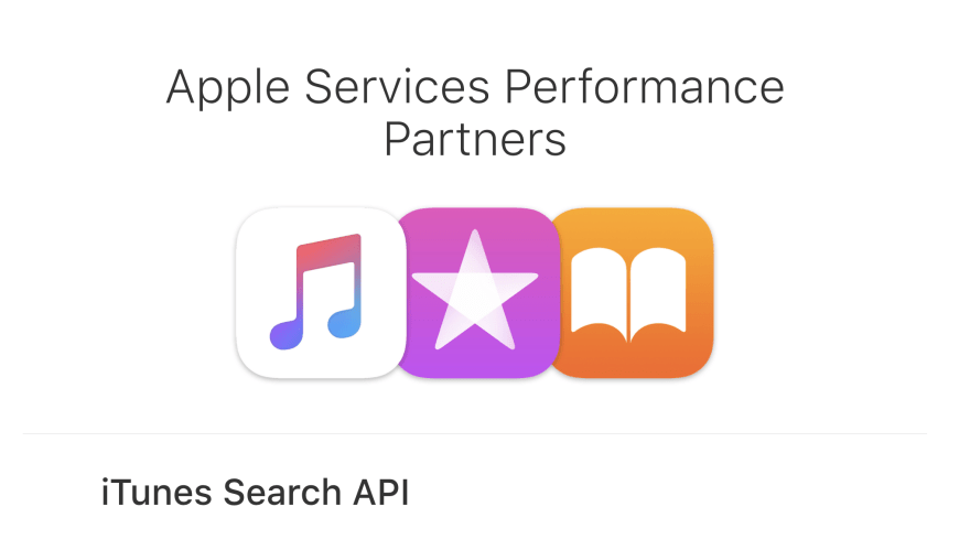 iTunes Search Homepage