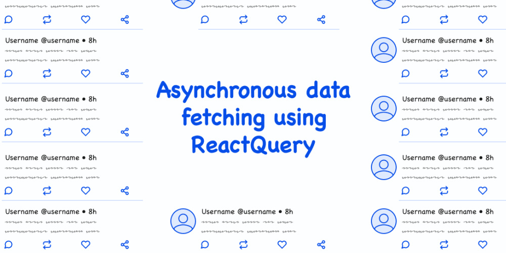 Asynchronous data fetching using React Query ⚛️