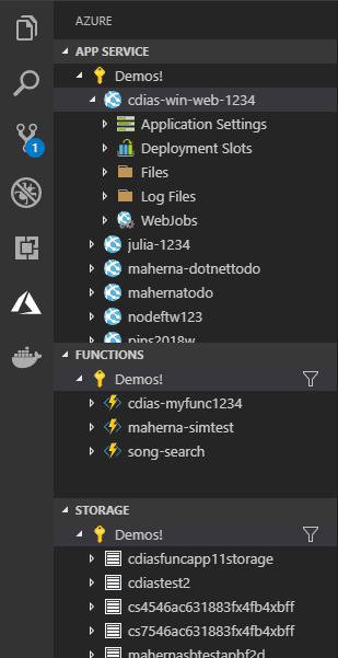 Azure Tooling for Visual Studio Code