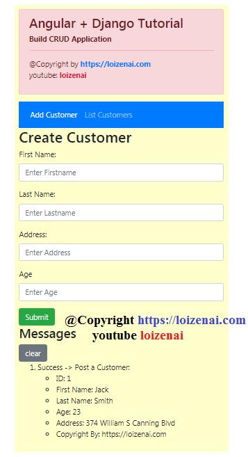 Goal 1 – Add a Customer Entity