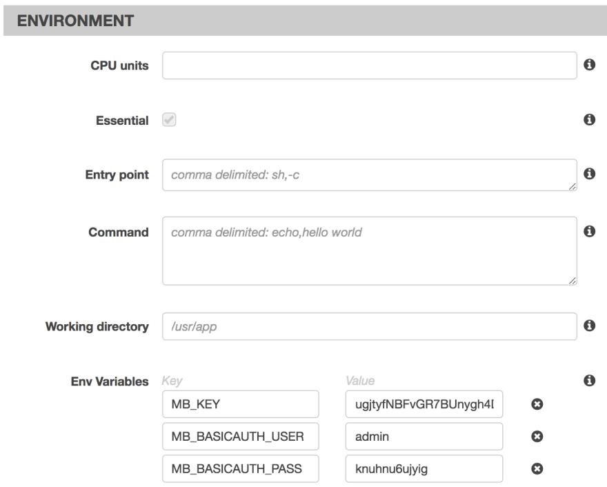Deploying Facebox to AWS ECS