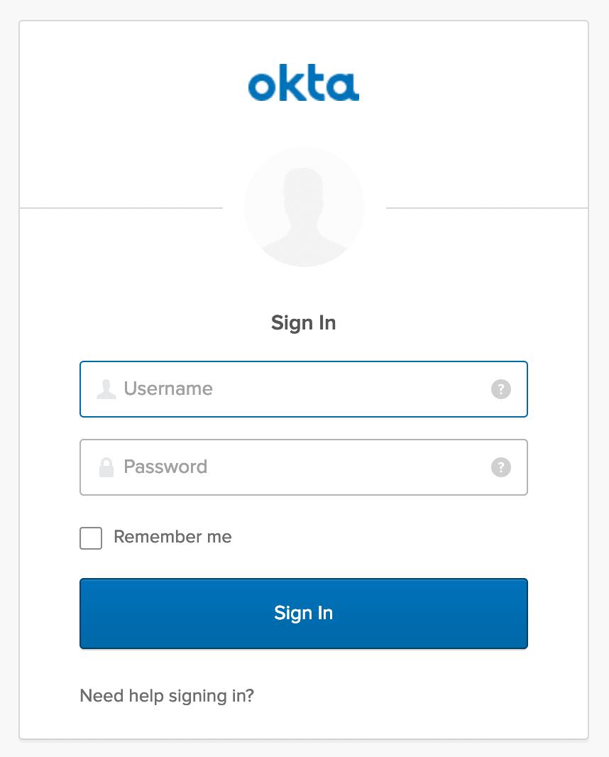 Okta Login