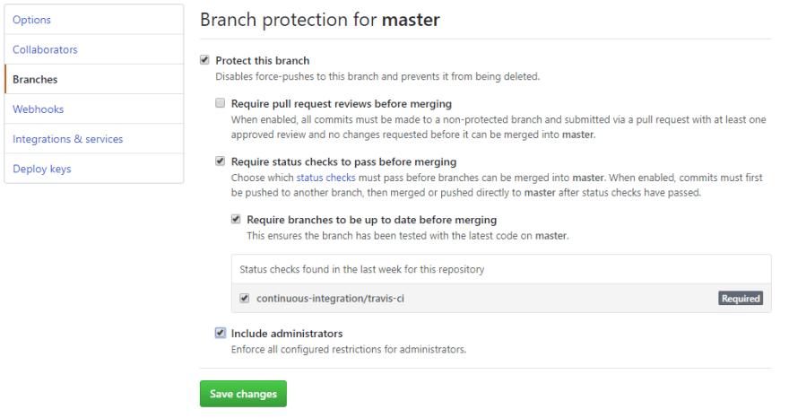 GitHub Branch Protection