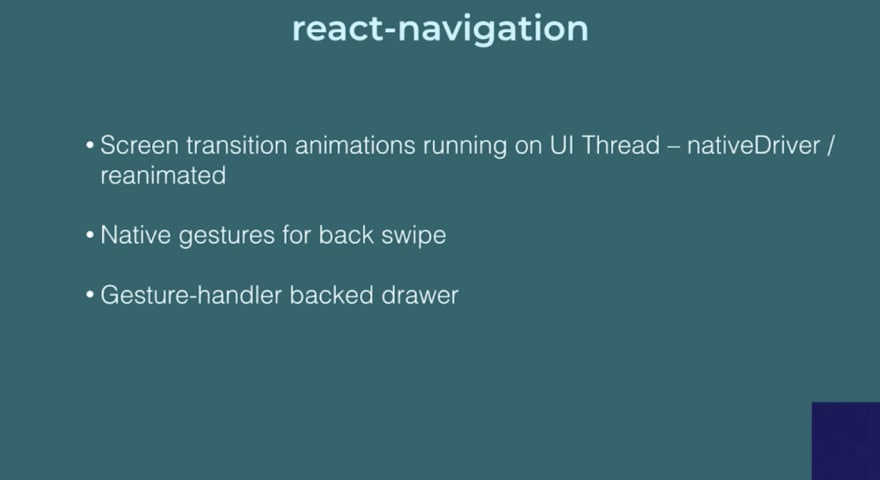 Using react-navigation 3 0 in React Native apps - DEV Community