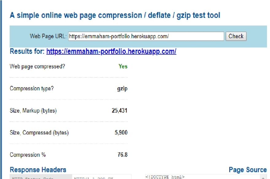 How to optimize your php website(feat Gzip Compression