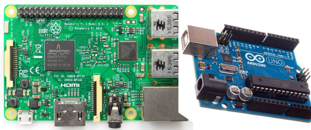 Cover image for Explain the differences and use cases for a Raspberry Pi vs Arduino like I'm five (but smart)