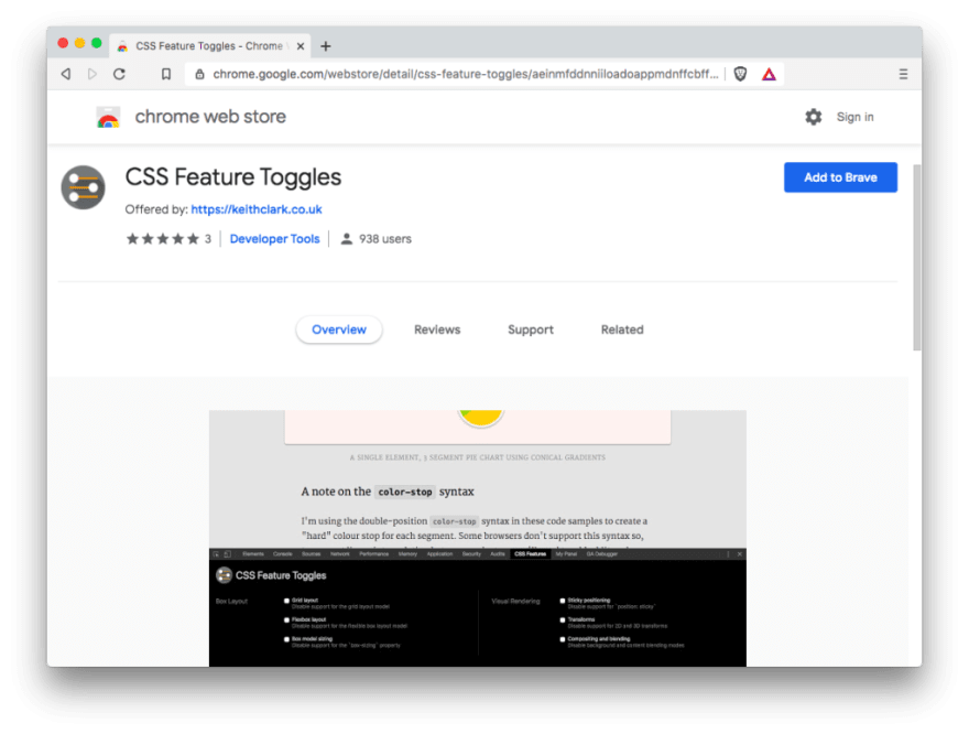 CSS Feature Toggles