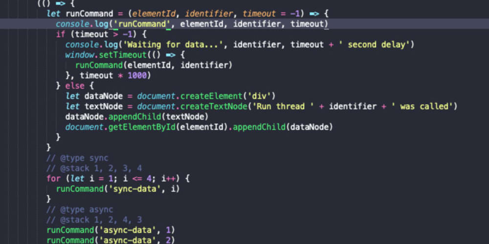 Synchronous vs Asynchronous Programming in Javascript