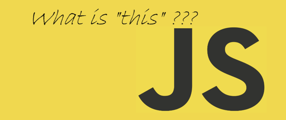 "Cover image for JavaScript - The ""this"" key word in depth"